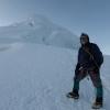Peru_Tocllaraju_summit ridge